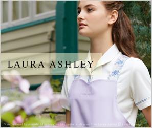LAURA ASHLEYコラボ白衣&介護ユニフォームシリーズ